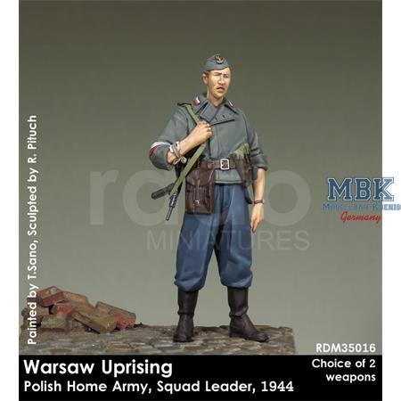 Warsaw Uprising Polish Home Army Squad Leader 1/35