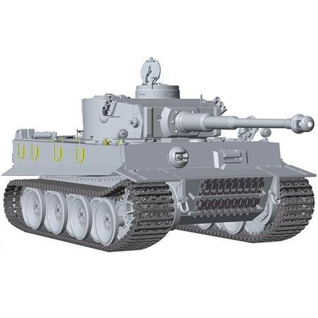 Tiger I, early Production full Interior