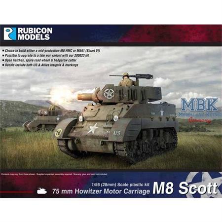 M8 Scott / M5A1 Stuart