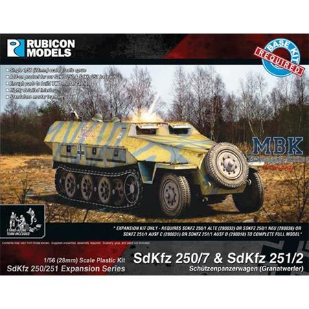 SdKfz 250/251 Expansion Set - SdKfz 250/7 & 251/2