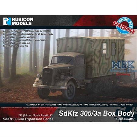 SdKfz 305/3a Expansion Set - Einheitskoffer