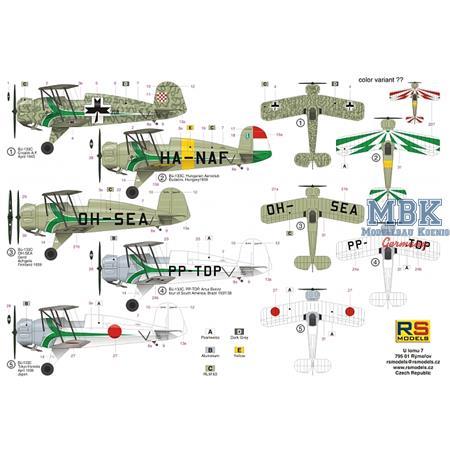 "Bücker Bü-133 C ""Jungmeister"" ""Green stripe"""