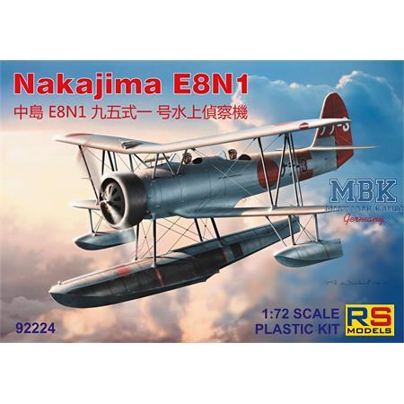 Nakajima E8N1 floatplane