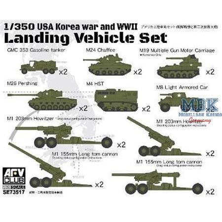 Landing Vehicle Set 2 (Korea War & WW2)