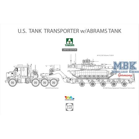 M1070 Tank Transporter w/Abrams - limited