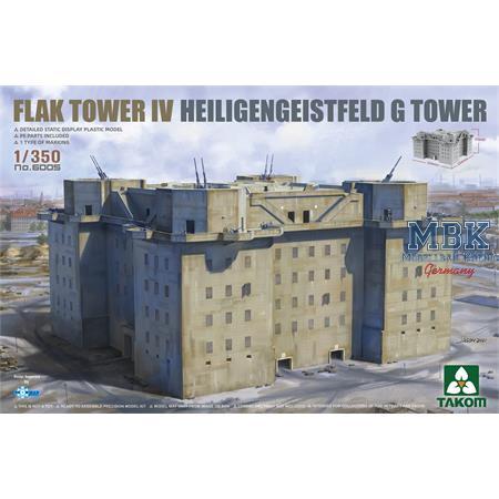 FLAK TOWER IV Heiligengeistfeld Hamburg G Tower