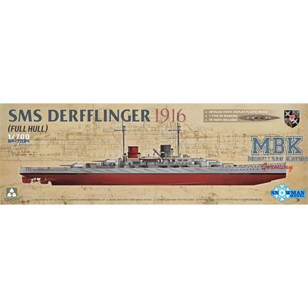 SMS DERFFLINGER 1916 (FULL HULL)