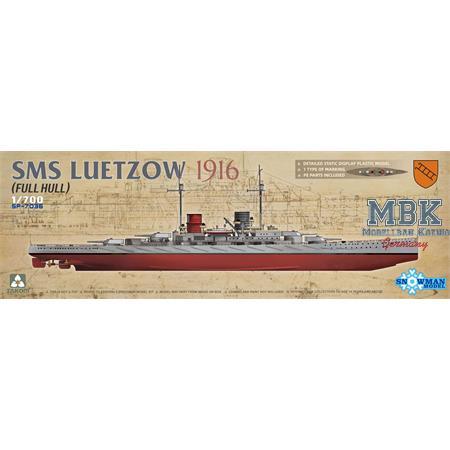 SMS LÜTZOW 1916 (FULL HULL)