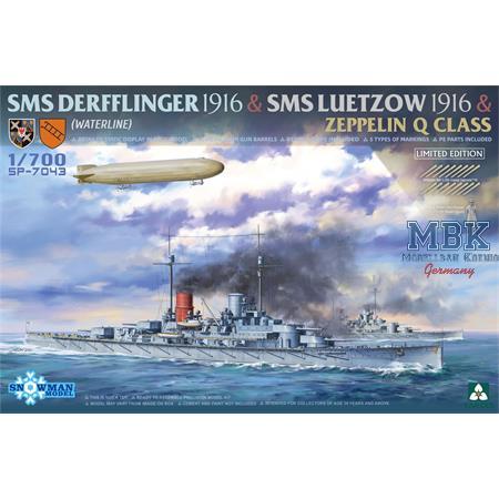 Derfflinger + Lützow +  Zeppelin Q Class - LIMITED