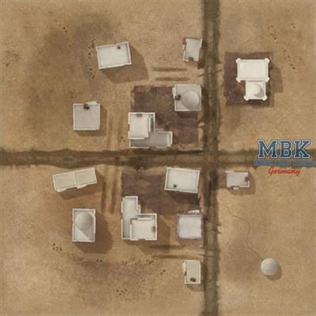 TANKS - El Alamein Game Mat