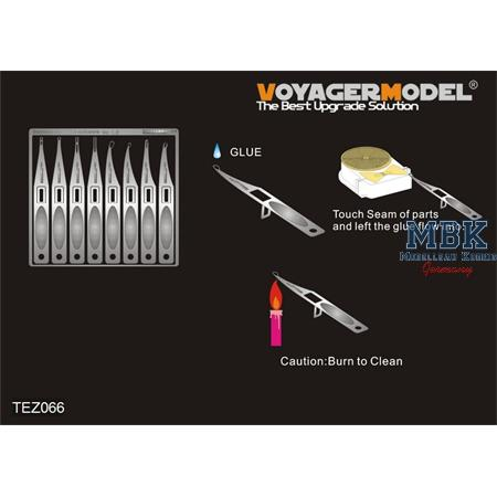 Voyager stainless super glue aplicators #2