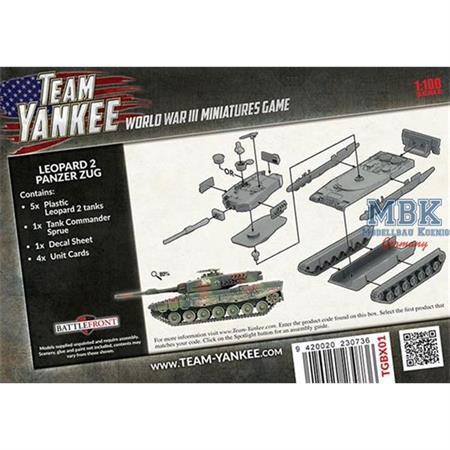 Team Yankee: Leopard 2 Panzer Zug