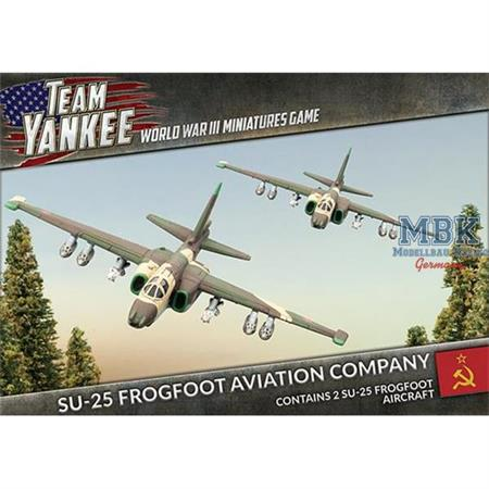 Team Yankee: Su-25 Frogfoot Aviation Company