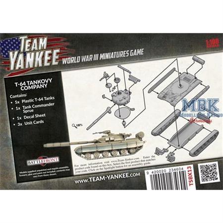 Team Yankee: T-64 Tankovy Company
