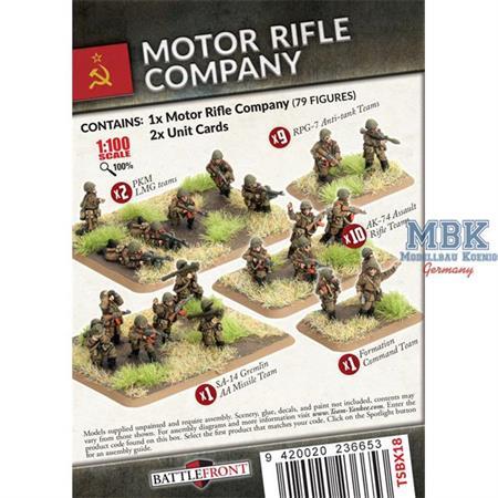 Team Yankee: Motor Rifle Company (Plastic)