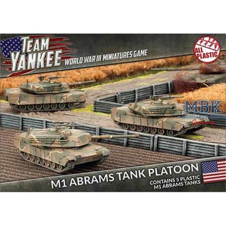Team Yankee: M1 Abrams Tank Platoon