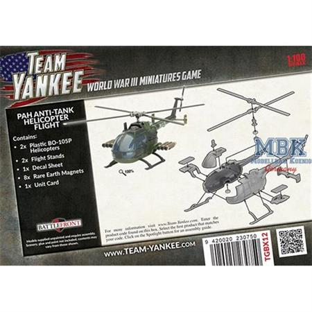 Team Yankee: BO-105P Anti-tank Helicopter Flight