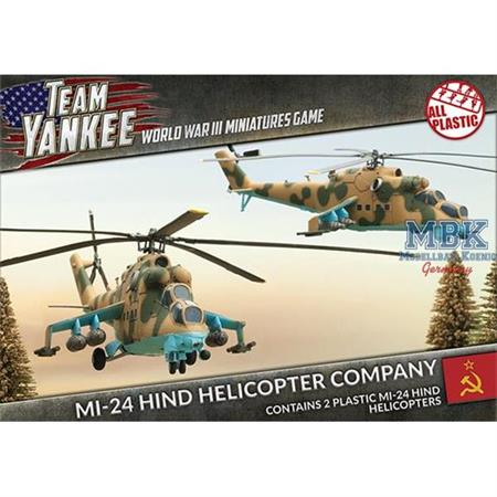 Team Yankee: Mi-24 Hind Helicopter Company