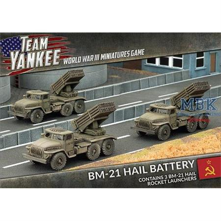 Team Yankee: BM-21 Hail Battery