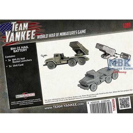 Team Yankee: BM-21 Hail Battery
