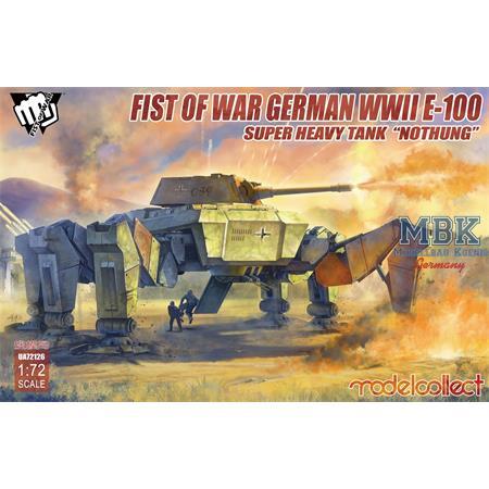 "Fist of War E-100 Super Heavy Tank ""Nothung"""