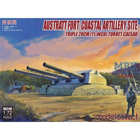 Austrått Fort Coastal Artillery + 2 x Flakzwilling