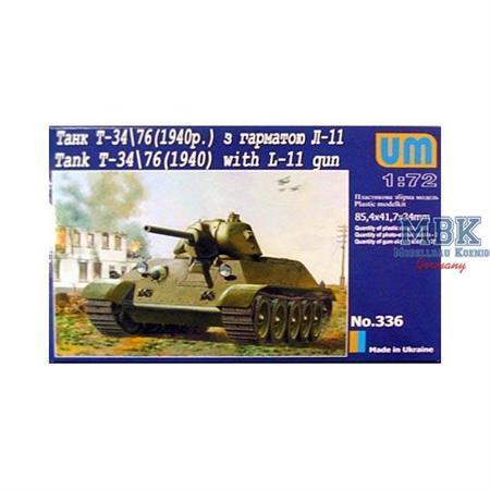 T-34/76 with L-11 Gun (1940)