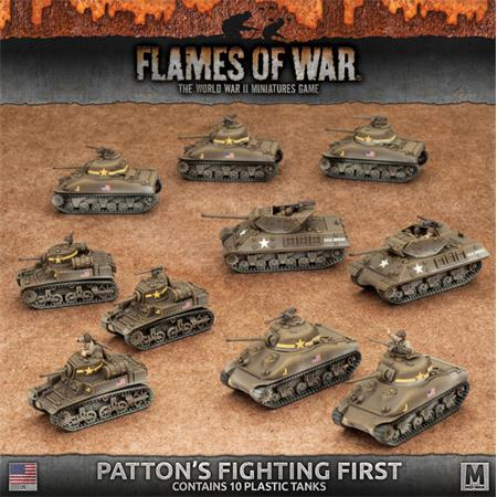 Flames Of War: Patton's Fighting First