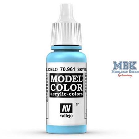 961 Sky Blue - Lichtblau (Model Color)