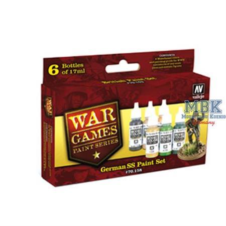 WWII Wargames Series German SS Paint Set