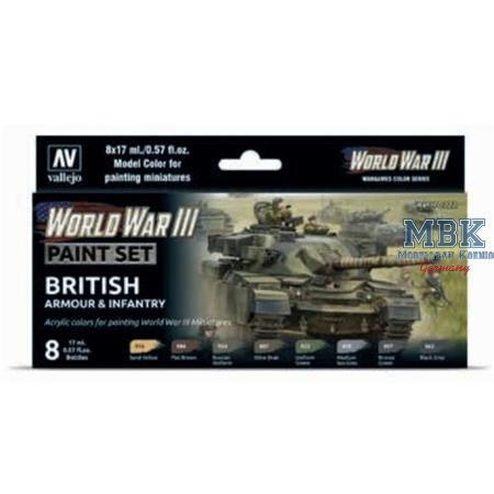 Model Color: WWIII Soviet Armour & Infantry