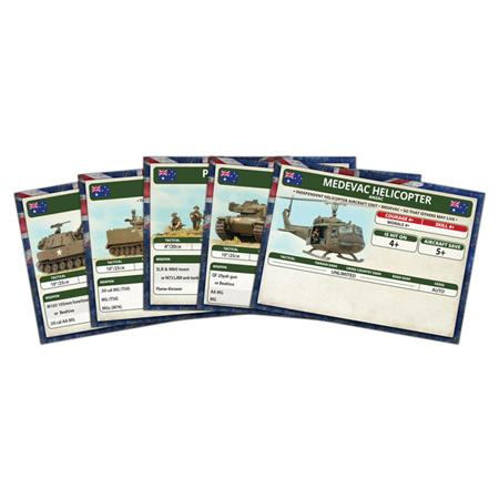 Nam - Unit Cards – ANZAC Forces in Vietnam