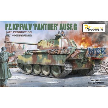 Panther Ausf.G  Late Production