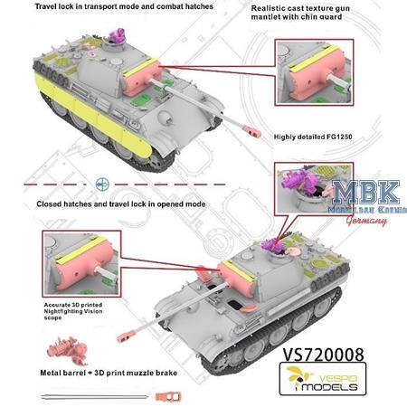 Pz.Kpfw.V Panther Ausf. G w/FG1250 Infrared device