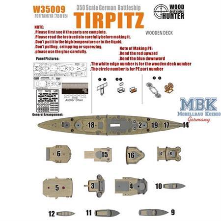WWII German Battleship Tirpitz