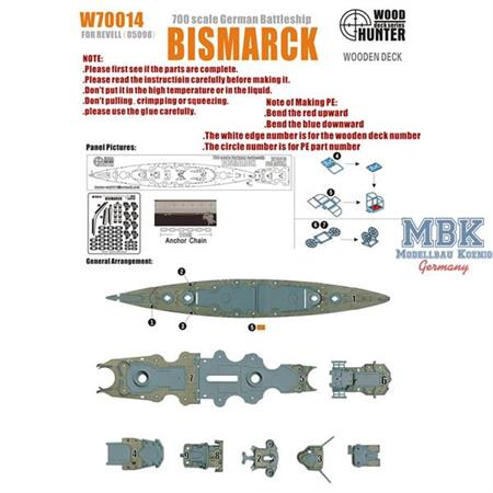 WWII German Battleship Bismarck