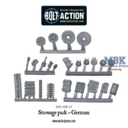 Bolt Action: German Stowage