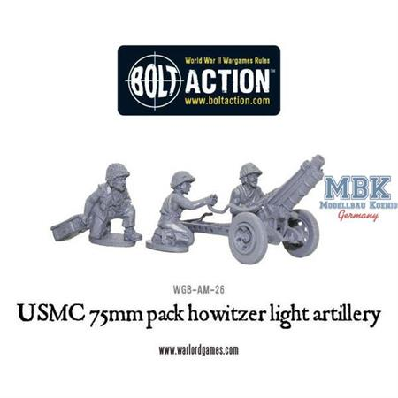 Bolt Action: USMC 75mm pack howitzer