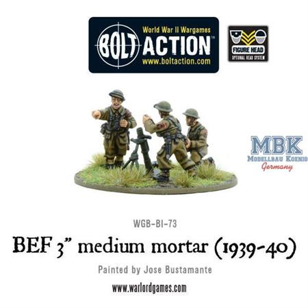 "Bolt Action: BEF 3"" medium mortar (1939-40)"
