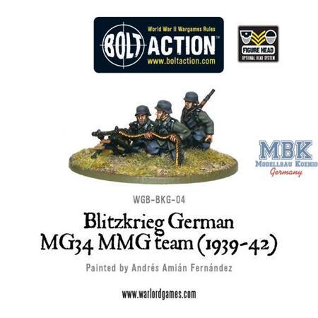 Bolt Action: Blitzkrieg German MG 34  (1939-42)