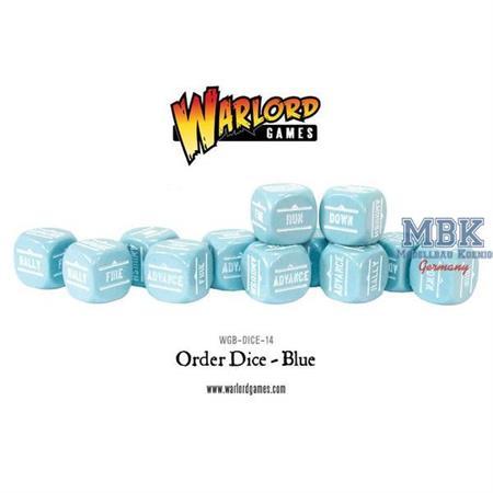 Bolt Action: Order Dice pack - Blue
