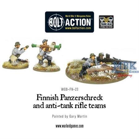 Bolt Action: Finnish Panzerschreck and AT rifle