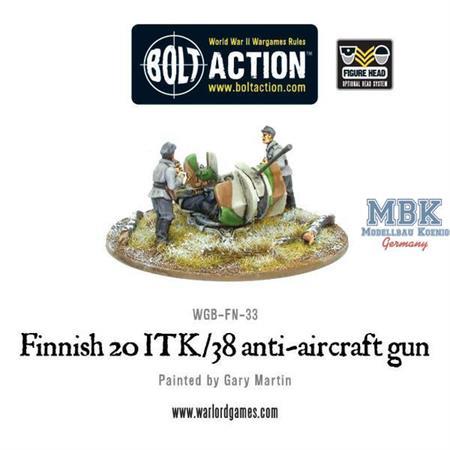 Bolt Action: Finnish 20 ITK/38 anti-aircraft gun
