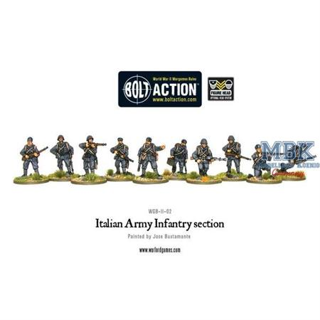 Bolt Action: Italian Army section