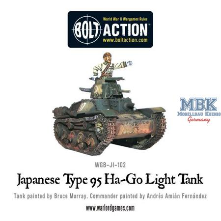 Bolt Action: Type 95 Ha-Go light tank