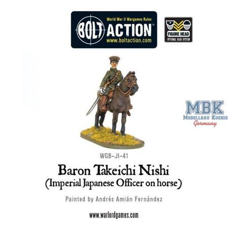 Bolt Action: Baron Nishi on Horse