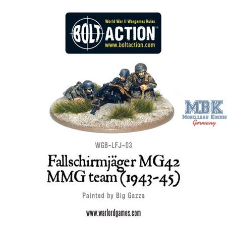 Bolt Action: Fallschirmjäger MG42 MMG team