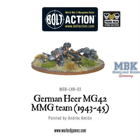 Bolt Action: German Heer MG42 team (1943-1945)