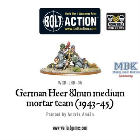 Bolt Action: German Heer 81mm mortar (1943-45)