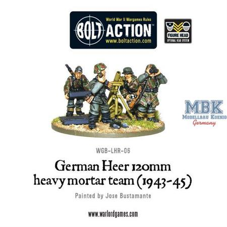 Bolt Action: German Heer 12cm mortar (1943-44)